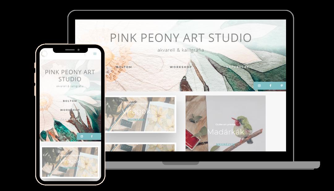 Pink Peony Art Studio